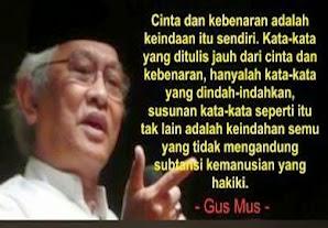 Perkenankan Aku Mencintaimu Semampuku (Puisi Gus Mus)