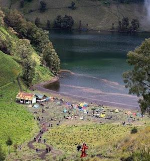 Ranu Kumbolo, Danau Suci Gunung Semeru