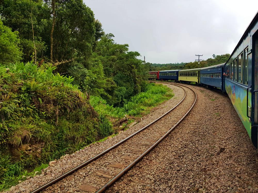 Passeio Trem Serra do Mar Curitiba - Morretes