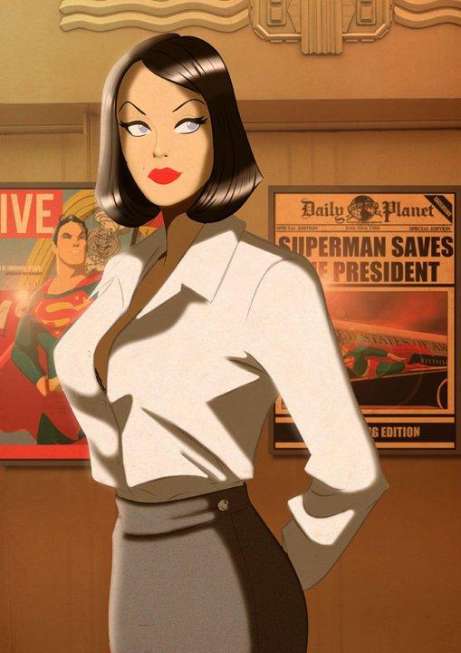 Lois Lane by Des Taylor   DESPOP ART & COMICS Goodwill Auction