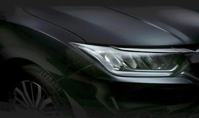 New 2017 Honda City facelift version