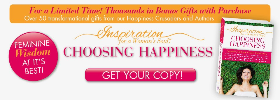 #ChoosingHappiness Happiness Crusader Book Launch