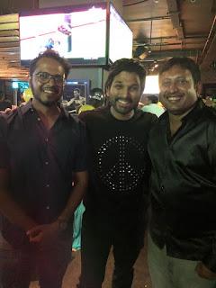Alluarjun delighted with #Taxiwaala success & throws lavish party to the team #VijayDeverakonda