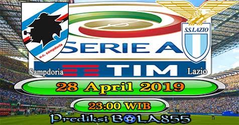 Prediksi Bola855 Sampdoria vs Lazio 28 April 2019