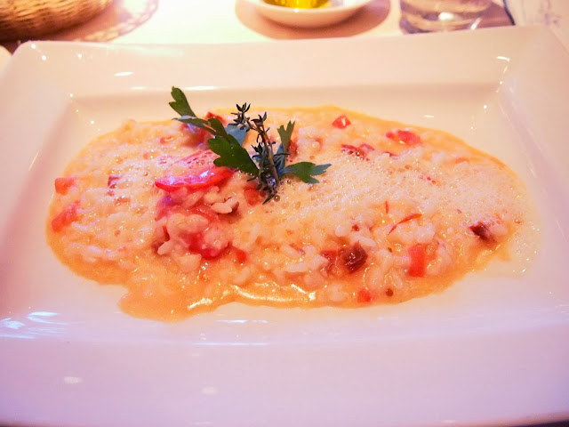 Tomato and Rosemary Risotto Storchen Zurich