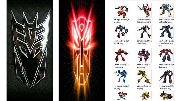Transformer Theme itz For Vivo Android Smartphones