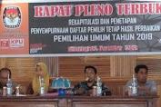DPT HP-2 Ditetapkan, 91. 610 Wajib Pilih Pemilu 2019 Di Kab. Kep. Selayar