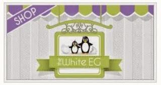 The White EG Shop Notice & Baby Jar Labels ~ Kroma Design Studio