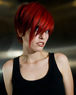 red hair short styles nana hairstyle ideas hairstyles 2737 | Short Red Hair Cuts 2012