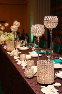 Non Flower Wedding Centerpieces