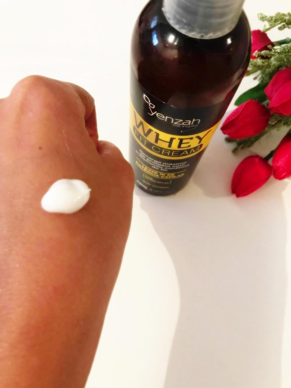Leave in Whey fit cream da Yenzah