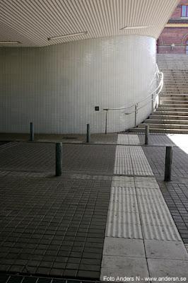tunnel under järnvägen umeå