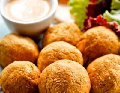 Receita de Falafel Assado - Receita Vegana