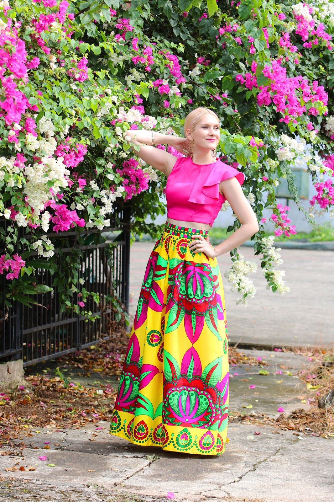Gorgeous Panamanian paruma skirt
