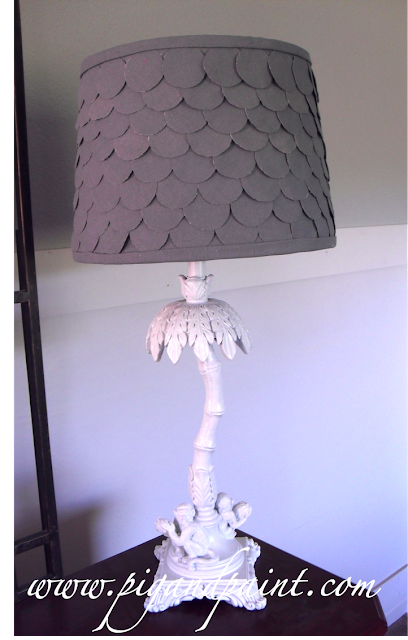 scalloped lampshade