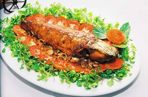 Bí quyết làm món Cá quả rút xương nhồi thịt ngon