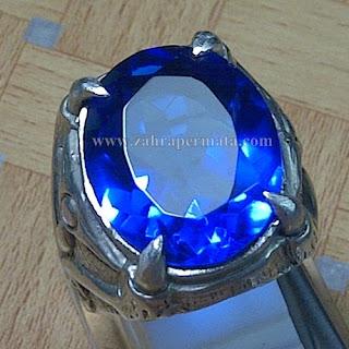 Cincin Batu Natural Blue Obsidian - ZP 766