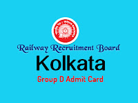 www.rrbkolkata.gov.in group d admit card 2018 kolkata rrb