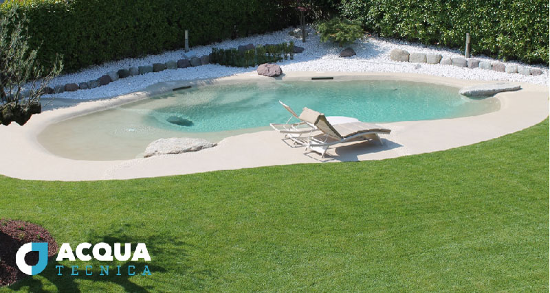 piscina pietra naturale soluzione di design