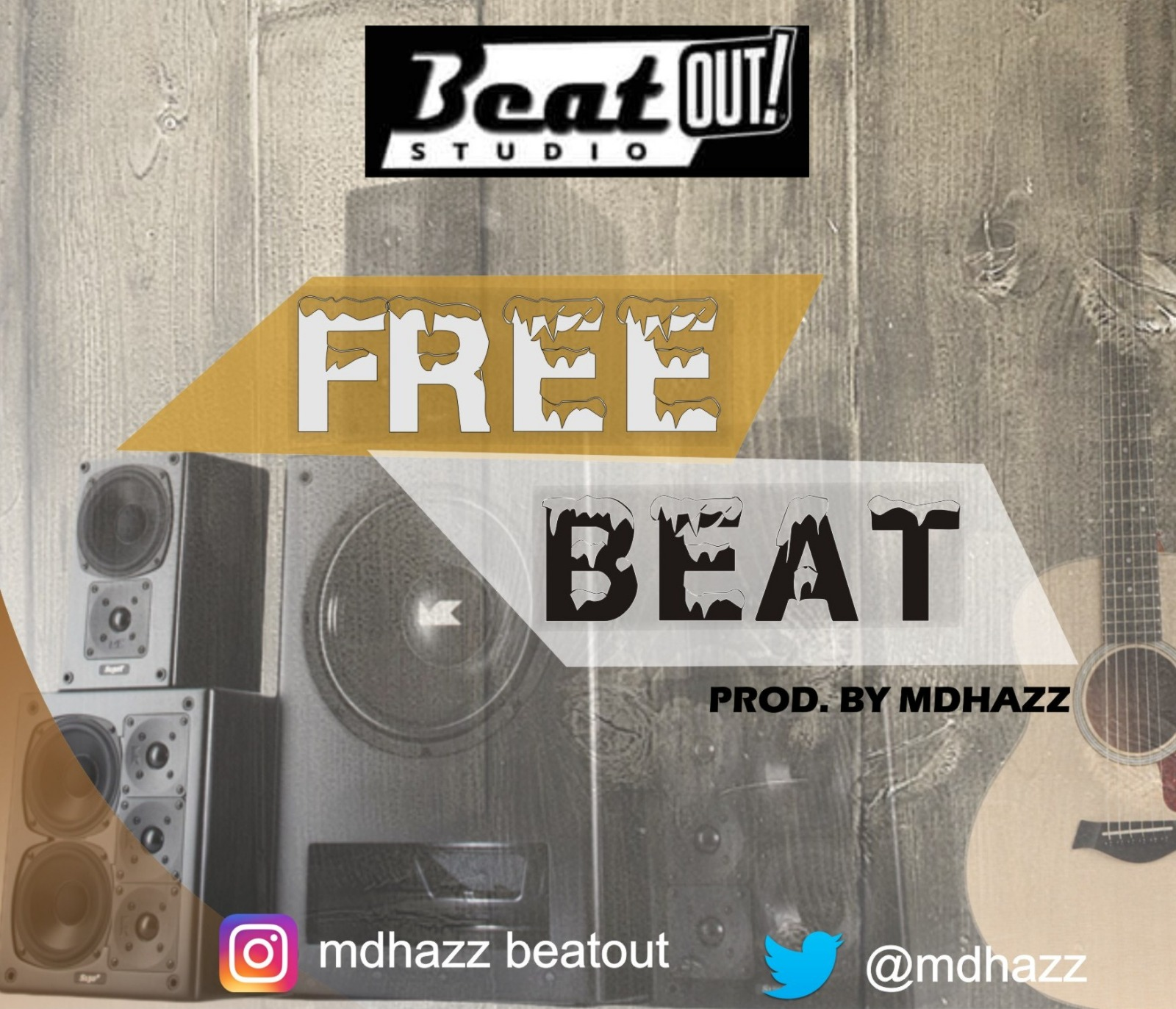 Free Beat: MD Hazz Afro Beat Instrumental @mdhazz - MadeIn
