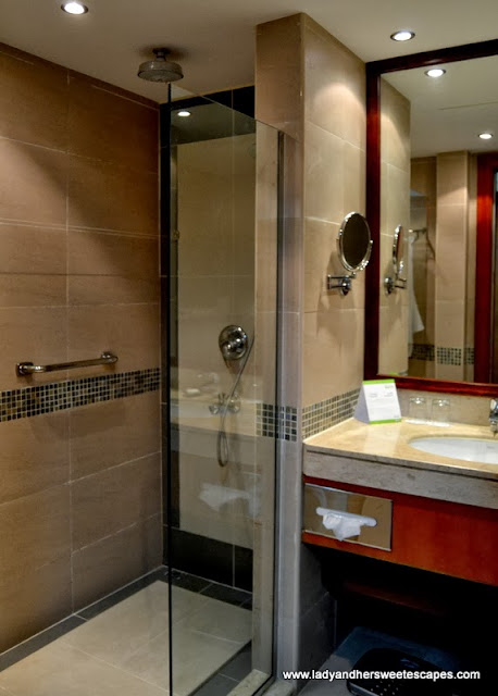 Fujairah Rotana Resort and Spa's bathroom