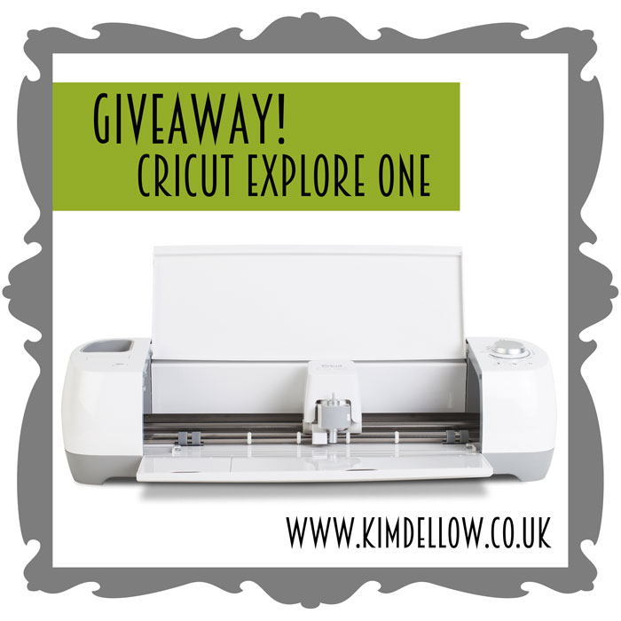 Win A Cricut Explore One