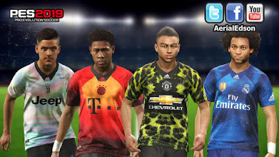 FIFA 19 Adidas x EA Sports Digital 4th Kits for PES 2019 PS4