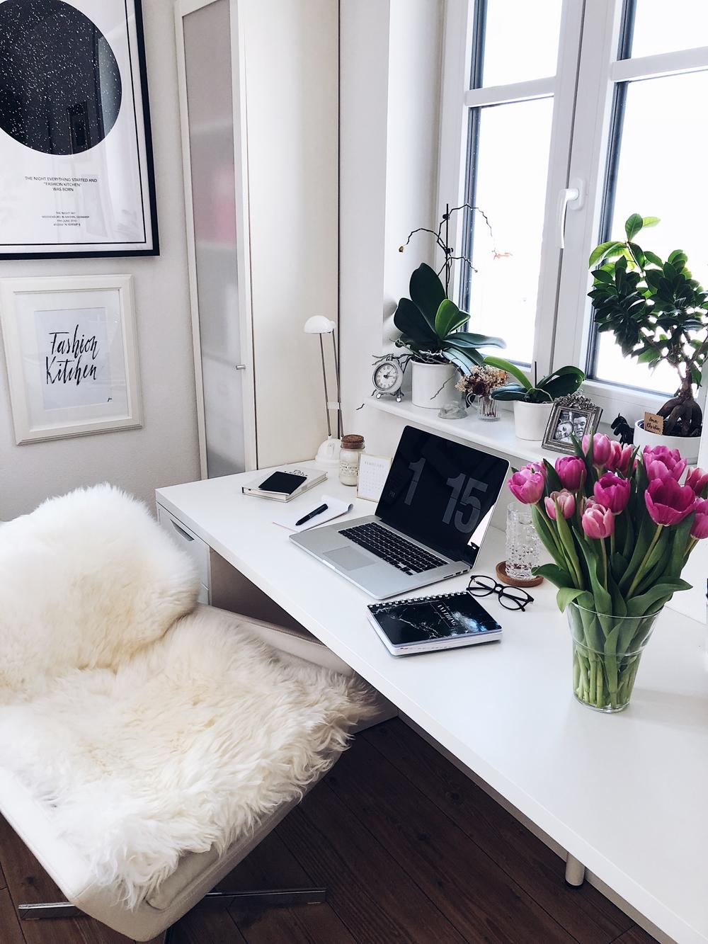 12 Tipps um produktiv von zu Hause zu arbeiten   Fashion Kitchen