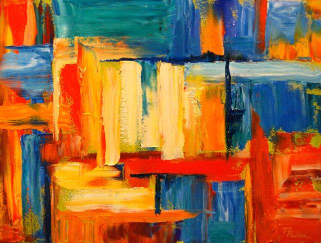 contoh aliran seni rupa abstraksionisme