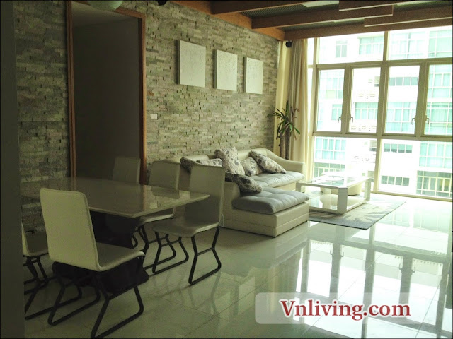 Modern furnished 3 bedrooms for rent in The Vista apartment