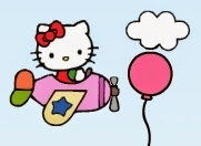 Hello Kitty Fly