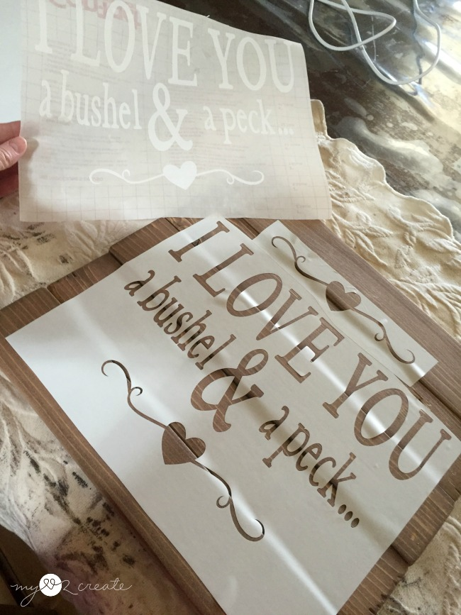How to make your own signs my love 2 create stencil with contact paper spiritdancerdesigns Gallery