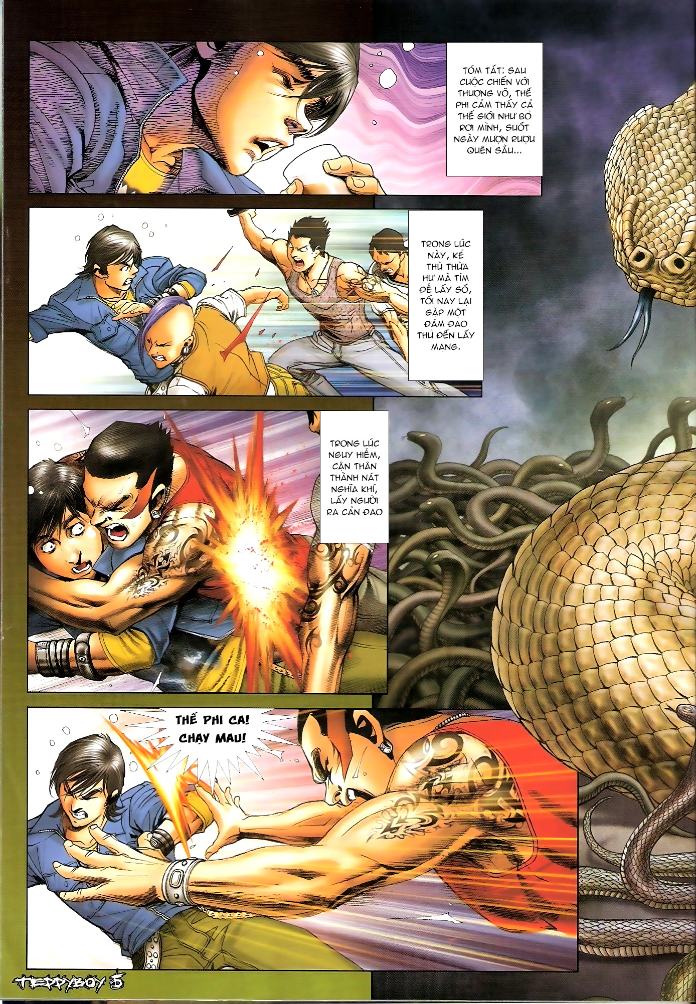Người Trong Giang Hồ - Chapter 1313: Triệu Kế Bang - Pic 2