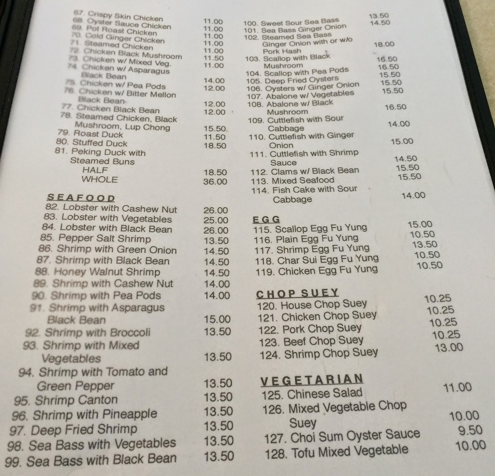 Maile Chinese Kitchen Mililani Menu