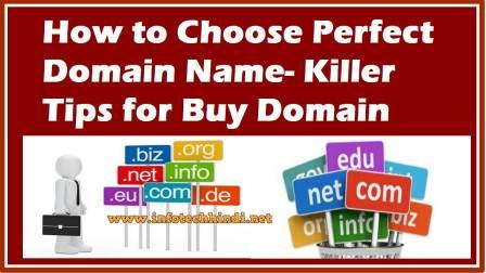 Perfect Domain Name- Killer Tips for Buy Domain