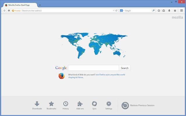 تحميل برنامج فايرفوكس للكمبيوتر 2016 عربي مجانا Firefox 44
