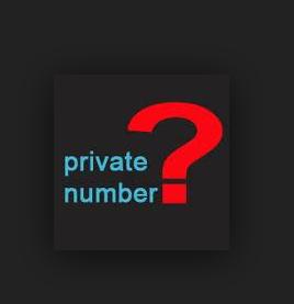 cara mudah mengetahui private number