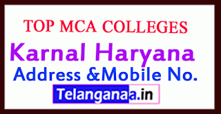 Top MCA Colleges in Karnal Haryana