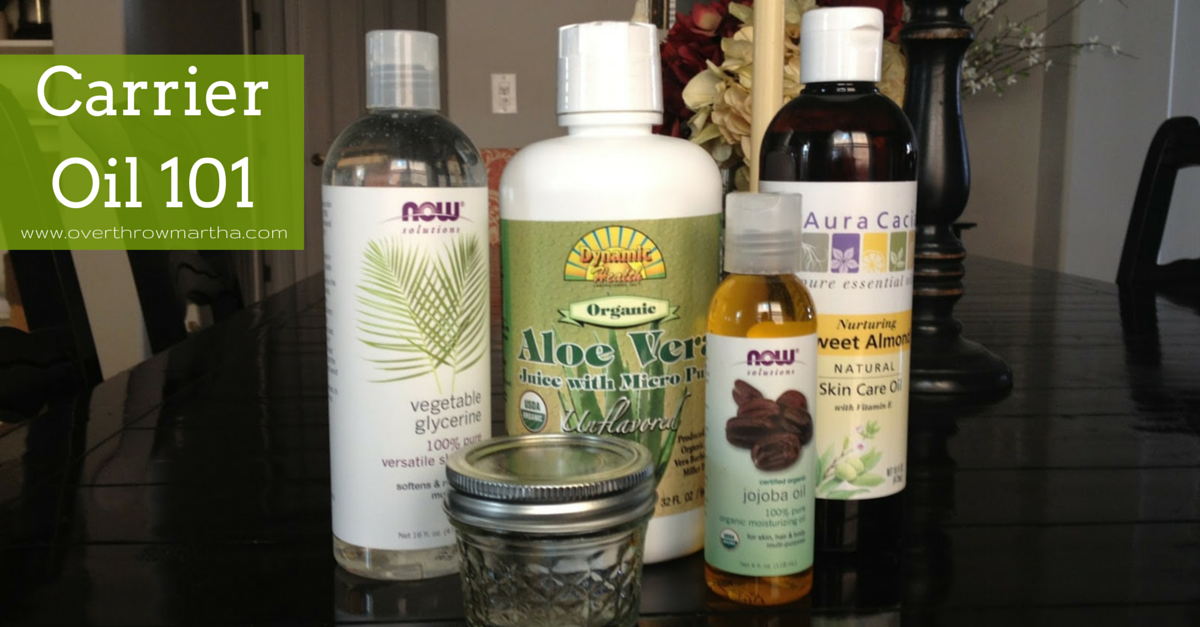 Carrier oil 101-- learn about the basics of what is a carrier oil and how to use them with essential oils for #DIYbeauty and #bodycare