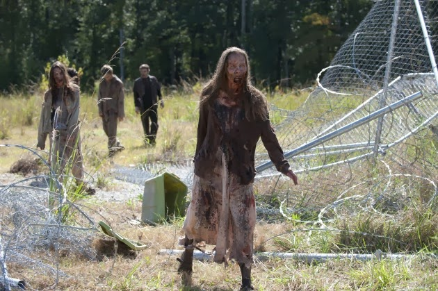 Caminantes o zombis en The Walking Dead 4x11 - Claimed