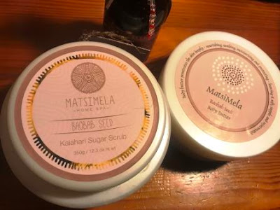 Matsimela Boabab Seed Scrub and Body Butter
