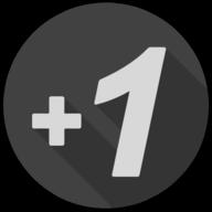 plusone blackout icon