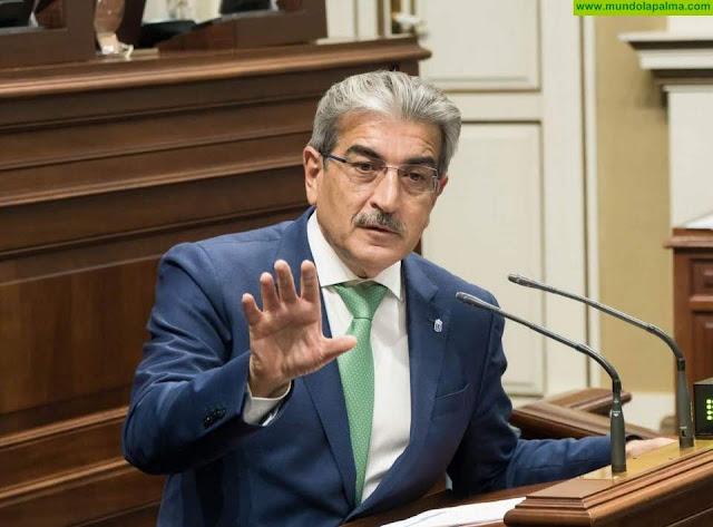 Román Rodríguez urge al Gobierno español a modificar la ley del REF para incorporar la prórroga de la ZEC