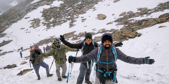 Gears of high altitude trek