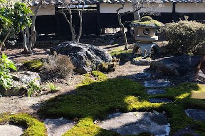 長野県上伊那郡飯島町 田舎のそば屋 ひなた 庭