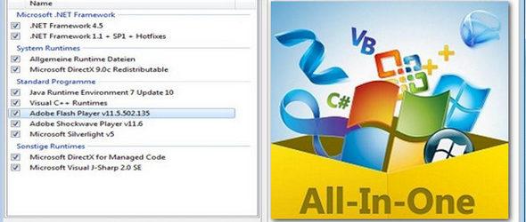 تجميعة برامج تشغيل الالعاب و البرامج على الكمبيوتر All In One