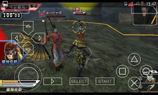Game PPSSPP Basara 2