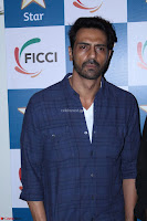 Arjun Rampal with Ajit Andhare At FICCI FRAMES 2017 003.JPG