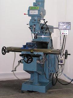 Contoh gambar mesin frais