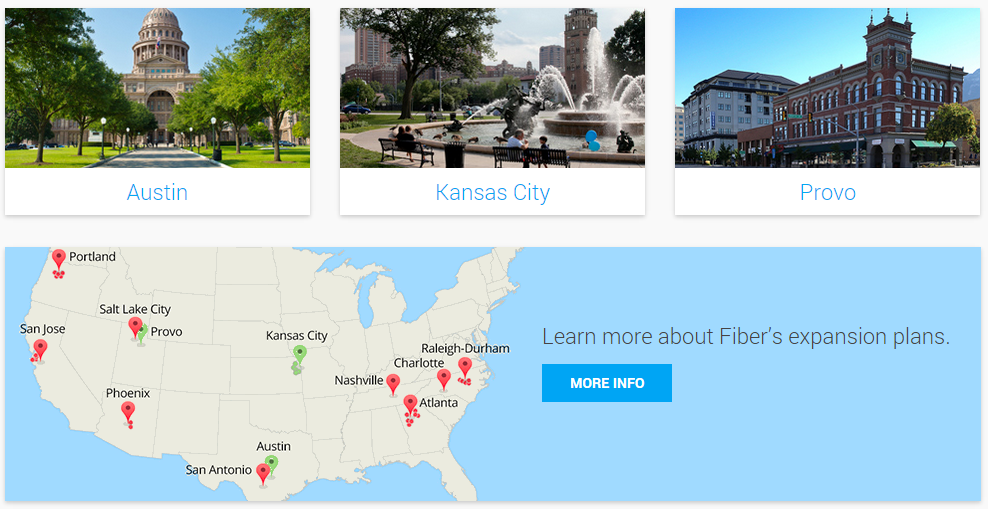 Google Fiber Offering Free Basic Internet Service In Several Cities